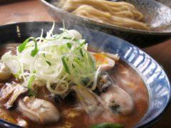 牡蠣のつけ麺